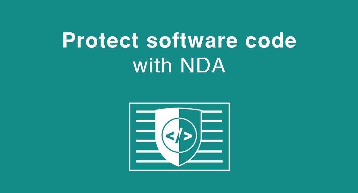 Protect software code with NDA